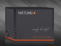 packaging- wetlinepro hair iron holder
