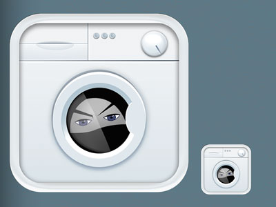 a suggestion to an app for laundry service- they didn't take it but i think its cute