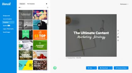 סקירת מוצר- stencil – תוכנת עיצוב אונליין למי שאין לו פוטושופ