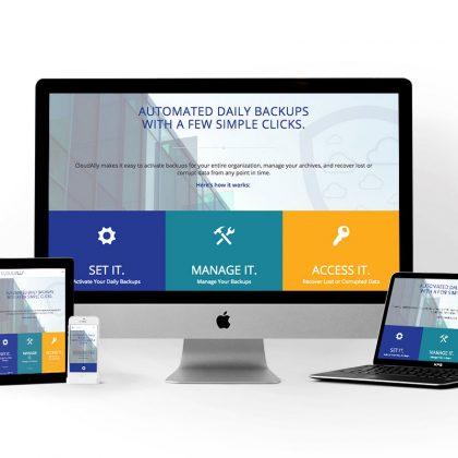 CloudAlly Website Design