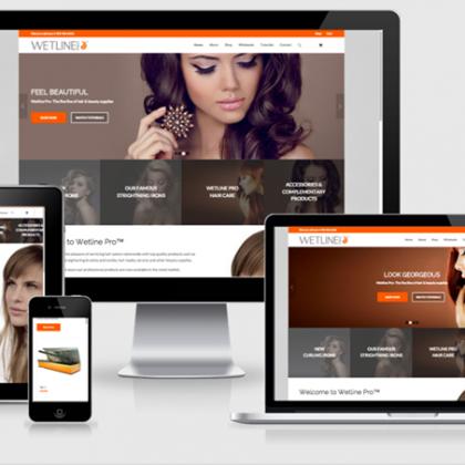 WetlinePro Global Site & Ecommerce