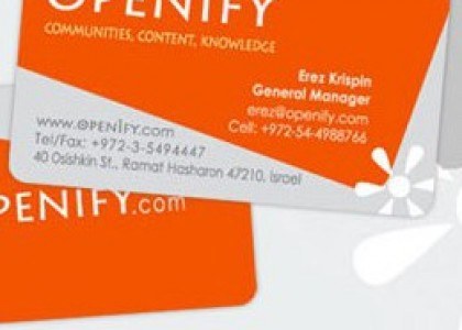 Openify- Business Card