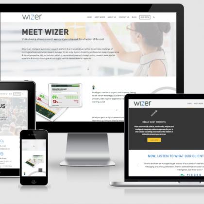 Wizer – Website Design