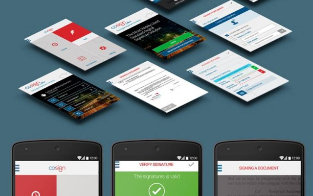 עיצוב אפליקציית אנדרואיד cosign