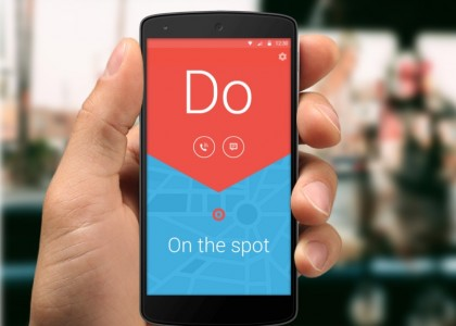 Do On Spot- Android App design