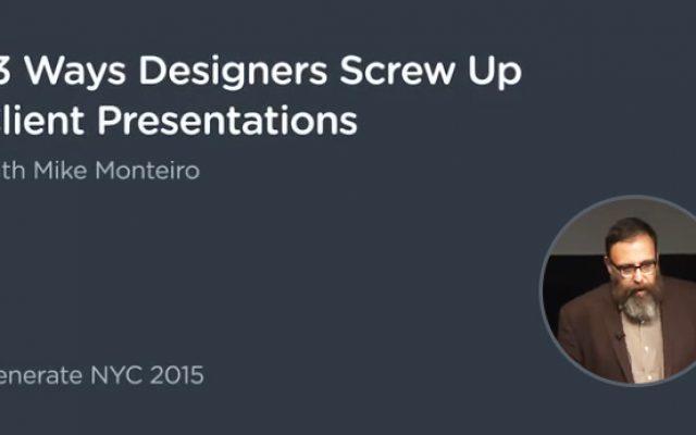 העצמה למעצבים: 13 דרכים שבהם מעצבים הורסים לעצמם בהצגת העיצוב ללקוח