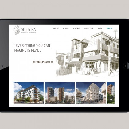 StudioKa- Responsive Website