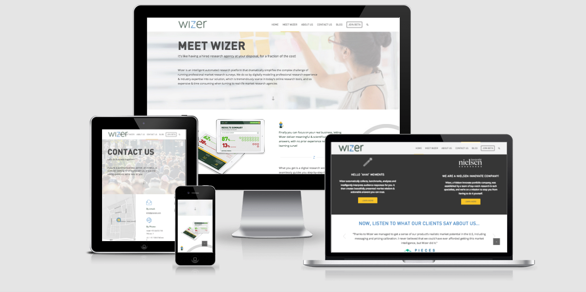 Wizer – Website Design
